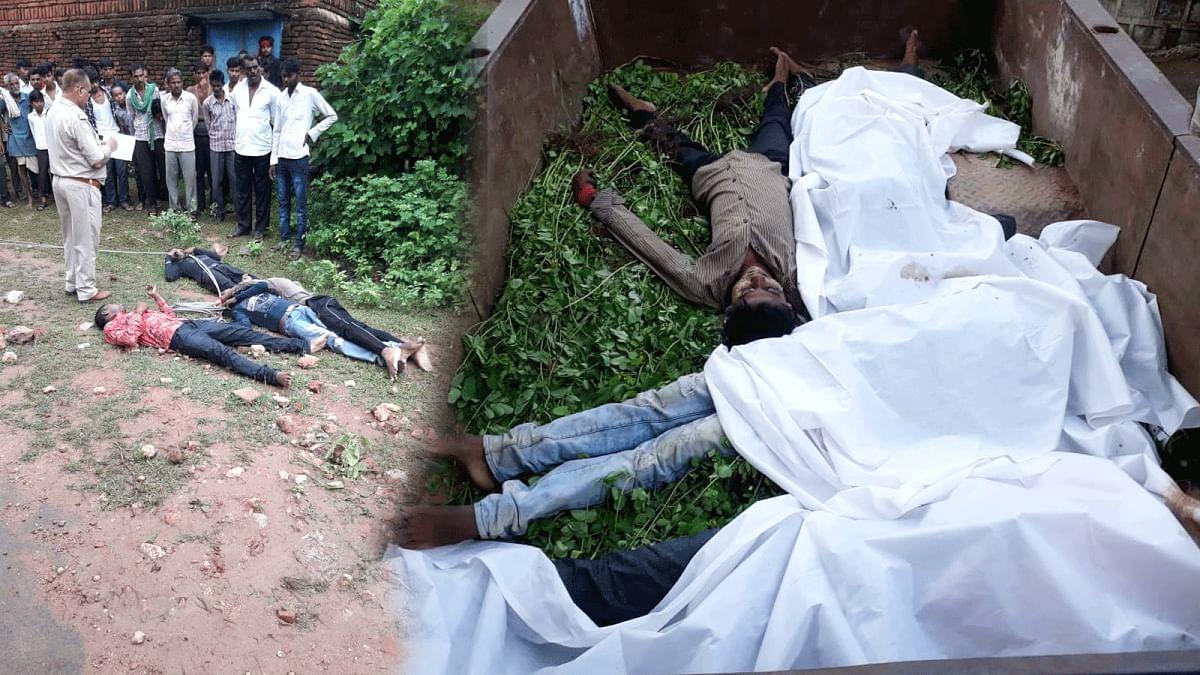 टीकमगढ़: बिजली के तार से करंट लगने से चार युवकों की मौत