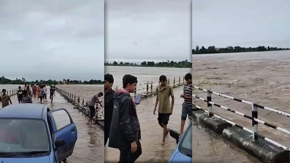बारिश के पानी से जन-जीवन हुआ प्रभावित