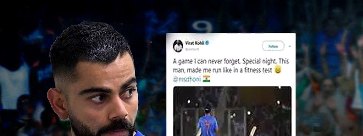 विराट कोहली के ट्वीट से माही के चाहने वाले हैं परेशान