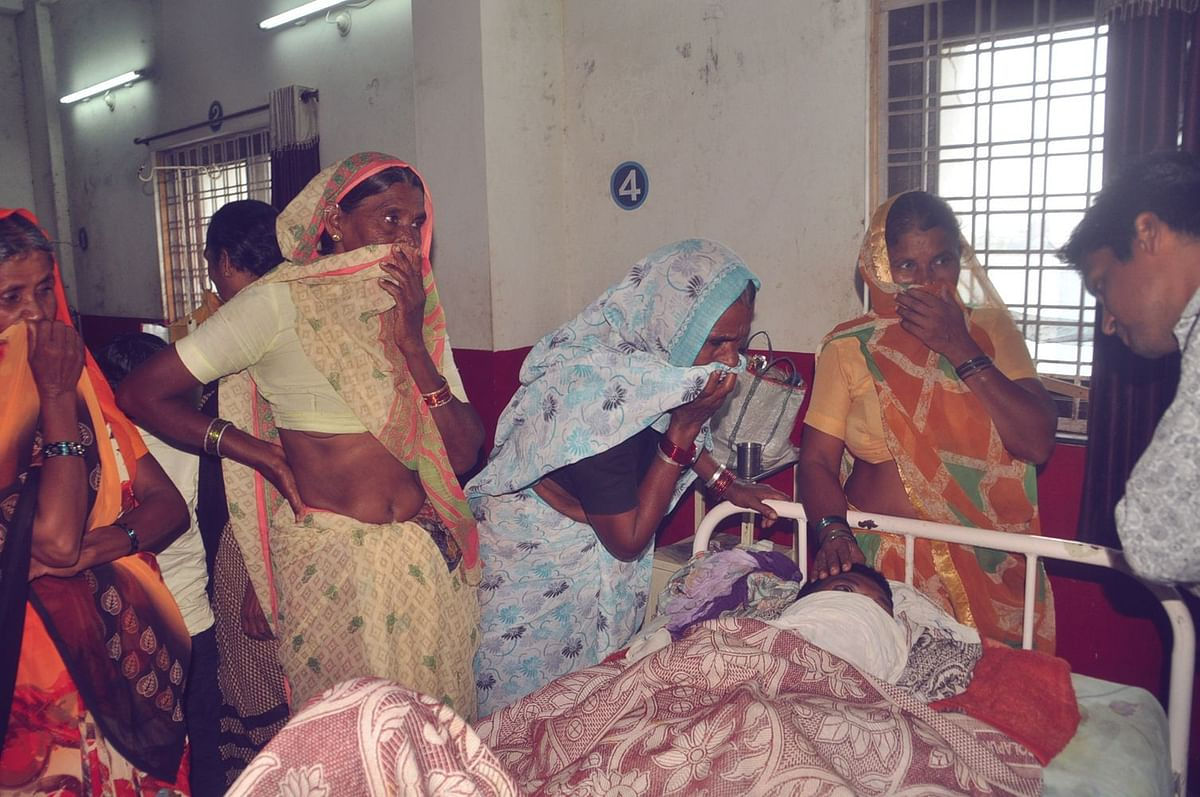 बुरहानपुर : जिला अस्पताल में गंदगी का आलम