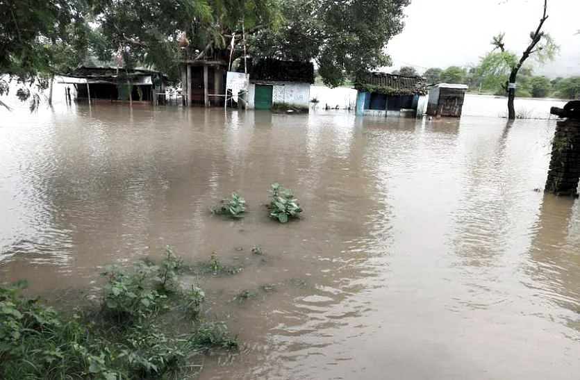 MP: कई जिलों में भारी बारिश के चलते मौसम विभाग ने किया अलर्ट जारी