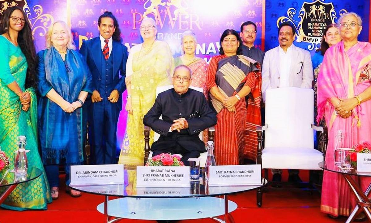 भारतीय मानवता विकास पुरस्कार से देश की 9 हस्तियां सम्मानित