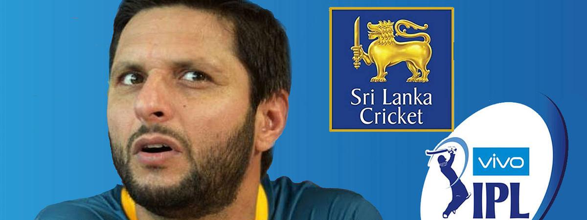 अफरीदी के बिगड़े बोल, श्रीलंका - IPL को बनाया निशाना