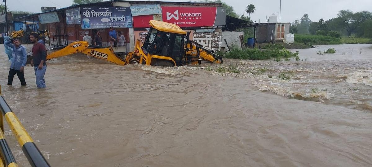 मालवा के सबसे बड़े बांध पर मंडराया संकट-हाई अलर्ट पर 'गांधीसागर'