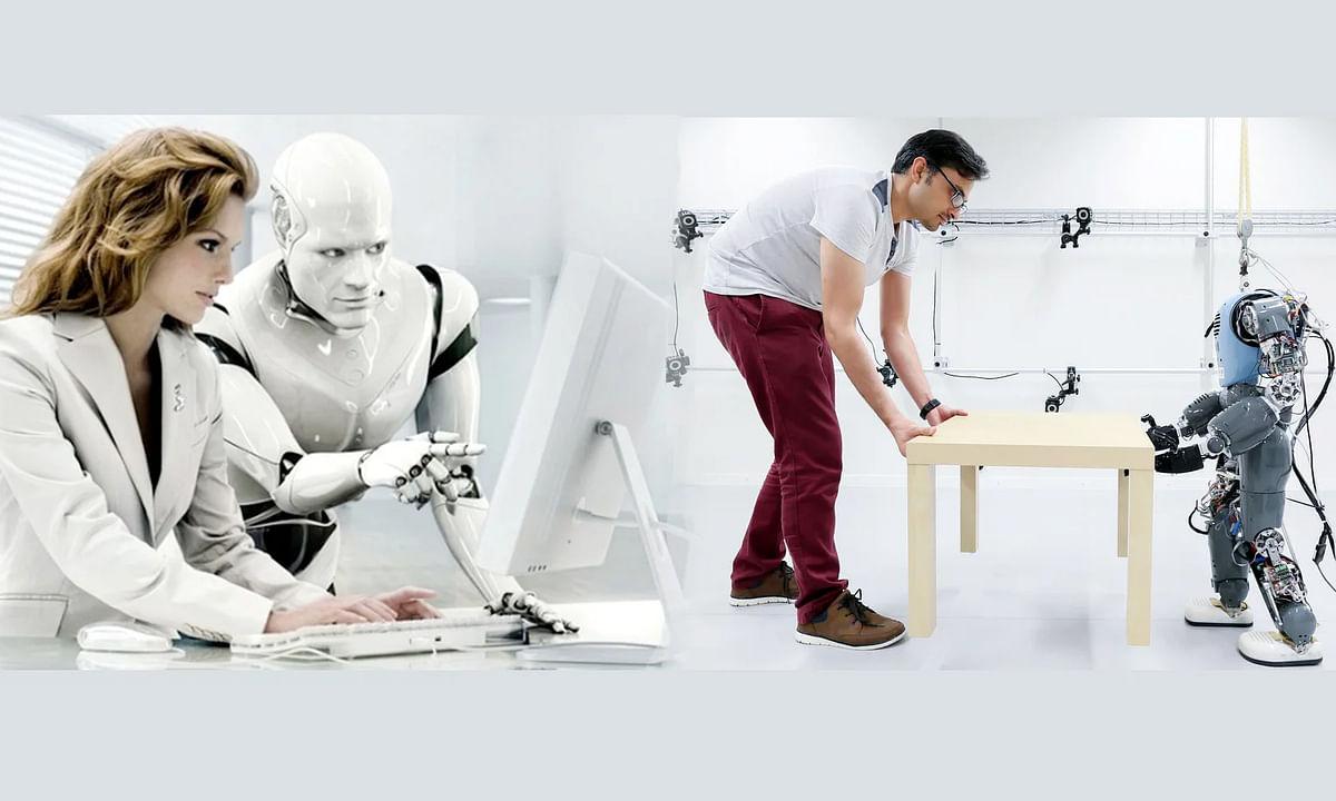 """मानव जीवन को सरल बनाने के लिए विज्ञान की महान देन है """"रोबोट"""""""