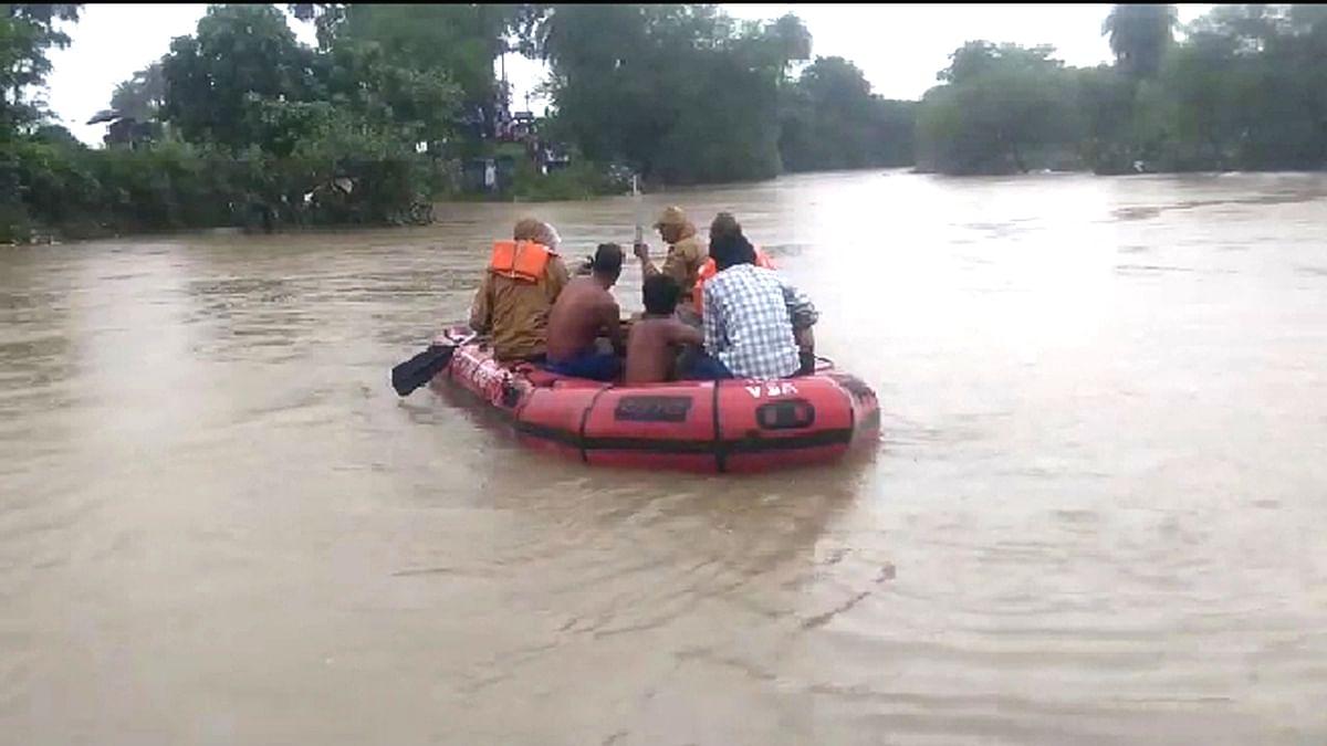 गंजबासौदा: नदी उफान पर आने एवं उपचार के अभाव में ग्रामीण की मौत