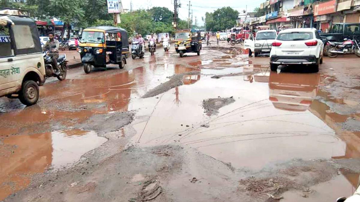 शिवपुरी: नागरिकों पर छाया स्वच्छ भारत अभियान का नशा लेकिन शहर की स्थिति बेहाल