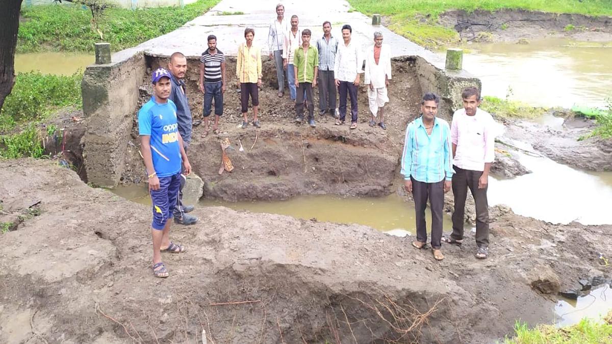 रतलाम: जावरा मे बारिश से 700 घर,12 पुलिया और 20 सड़कें क्षतिग्रस्त