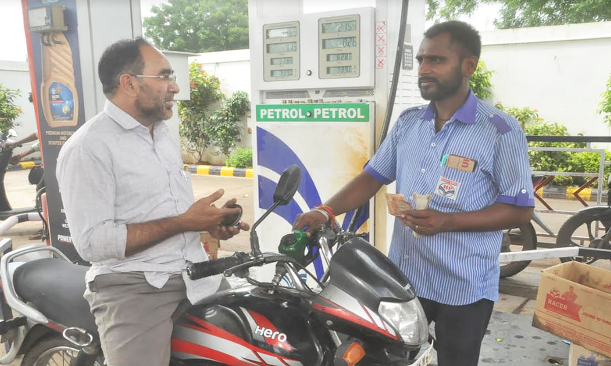 बुरहानपुर: पेट्रोल-डीजल के बढ़े दामों से बिगड़ेगा घर का बजट