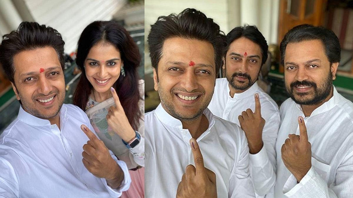 देशमुख परिवार ने किया मतदान