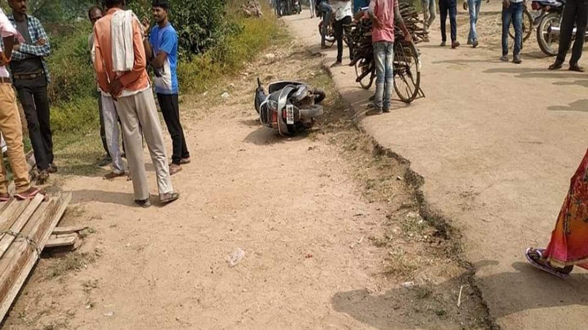 छतरपुर: नकाबपोश बदमाशों ने चलाई गोली, महिला को लगी