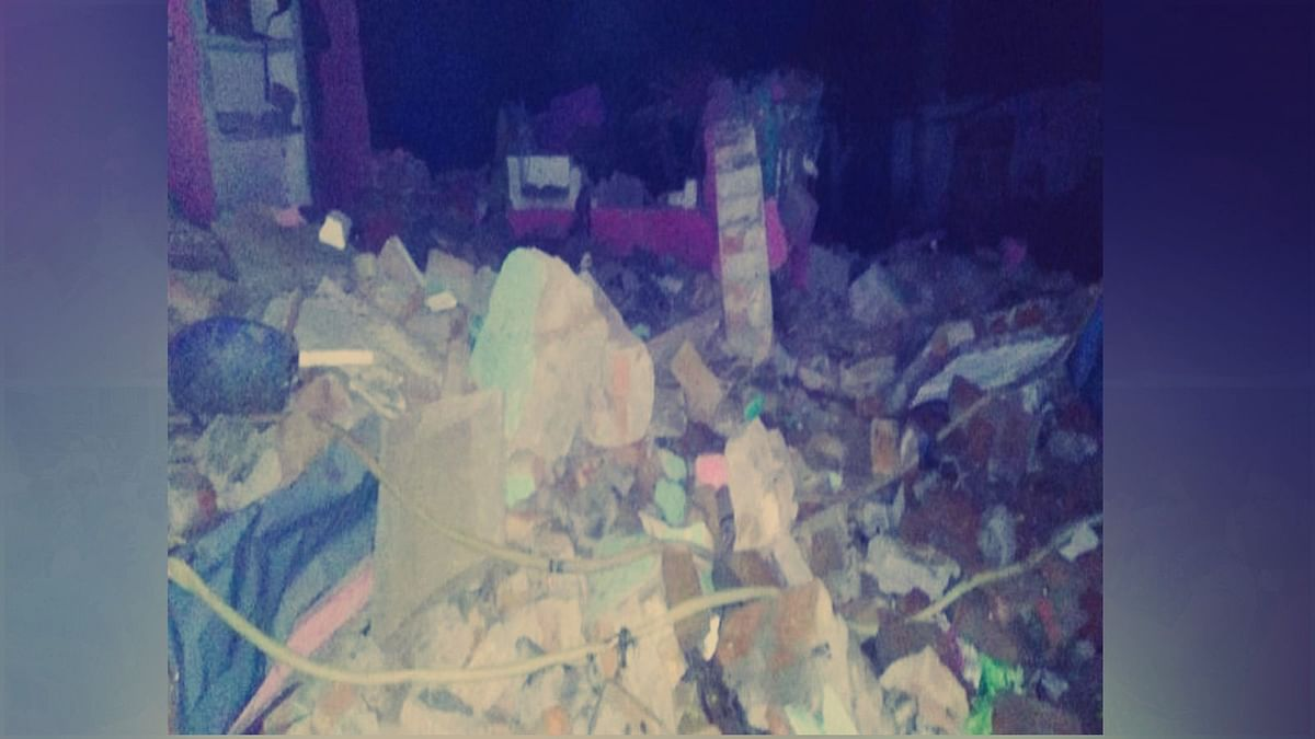 ग्वालियर: अवैध रूप से पटाखा बनाते हुए विस्फोट, तीन की मौत