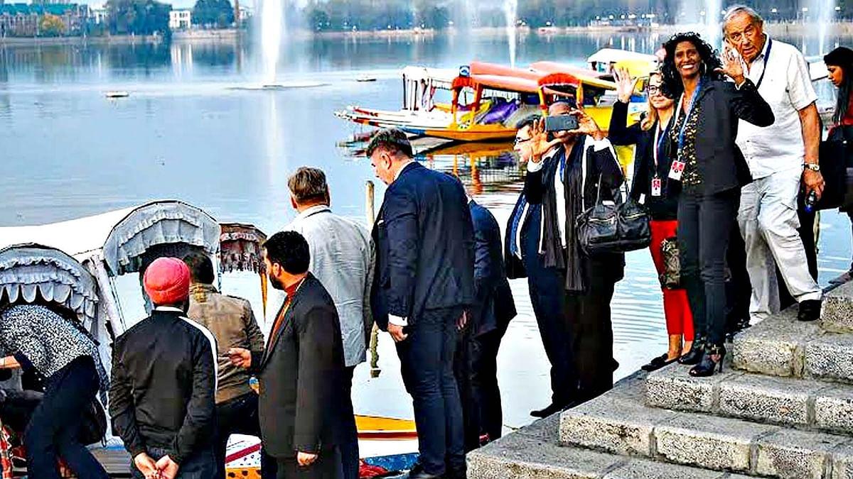 EU सांसदों के कश्मीर दौरे पर कांग्रेस का विरोध-भाजपा का पलटवार