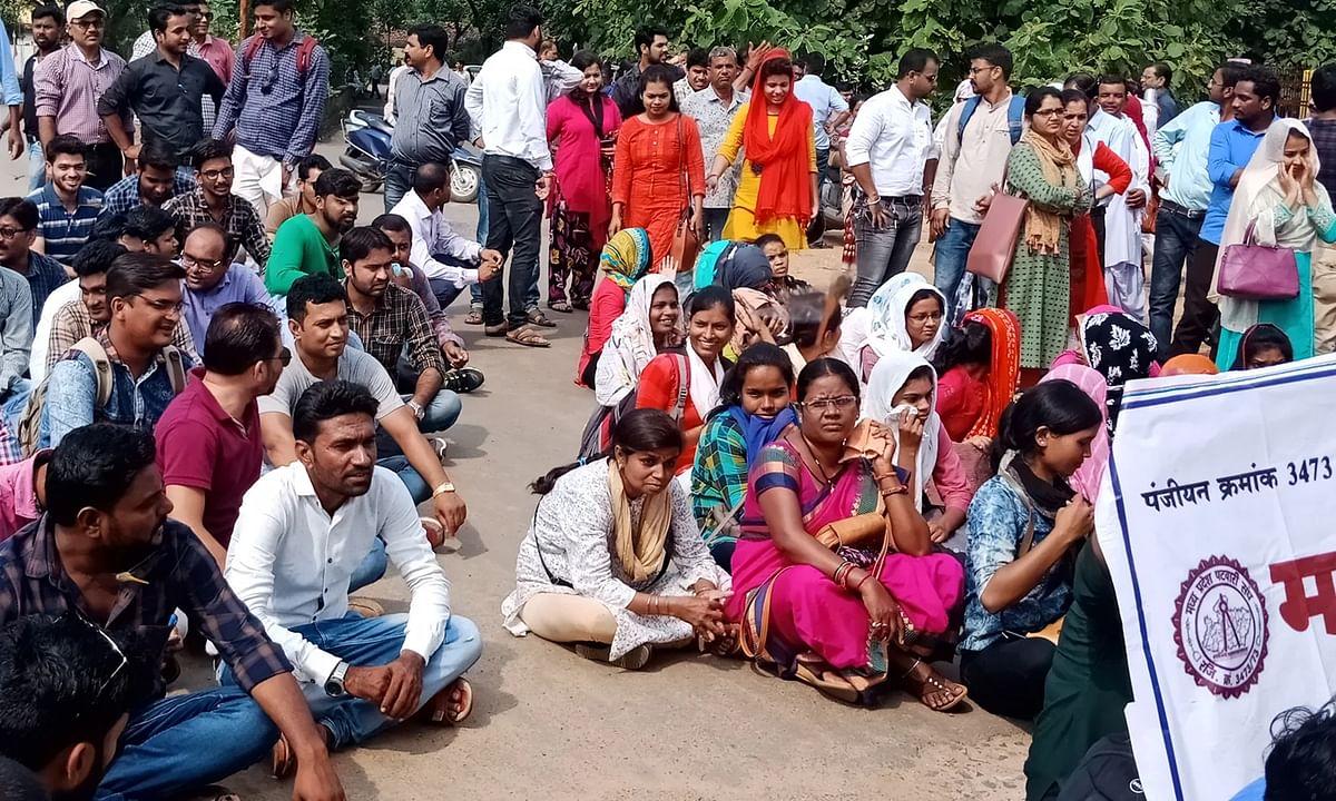 इंदौर: पटवारी संघ की अनिश्चितकालीन हड़ताल-क्या बढ़ेंगी सरकार की मुश्किलें ?