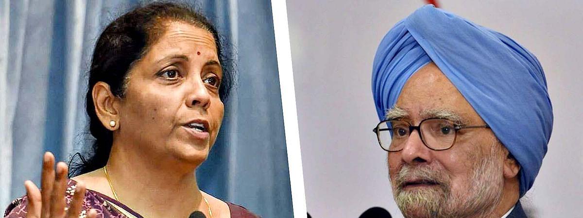 Nirmala Sitharaman-Manmohan Singh
