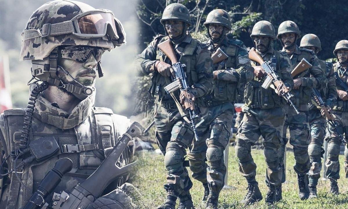 सीमा पर चीन के सैनिकों की हमारे सैनिकों के साथ झड़प
