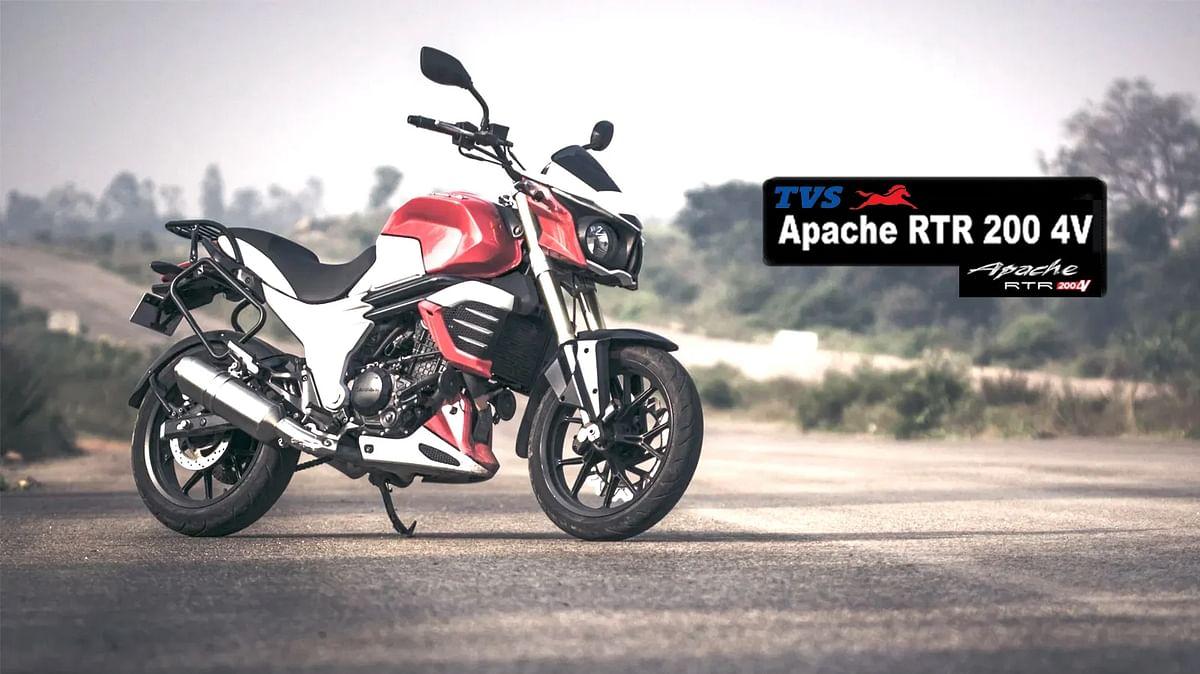 TVS कंपनी ने Apache RTR 200 4V को अपडेट कर जोड़े नए फीचर्स