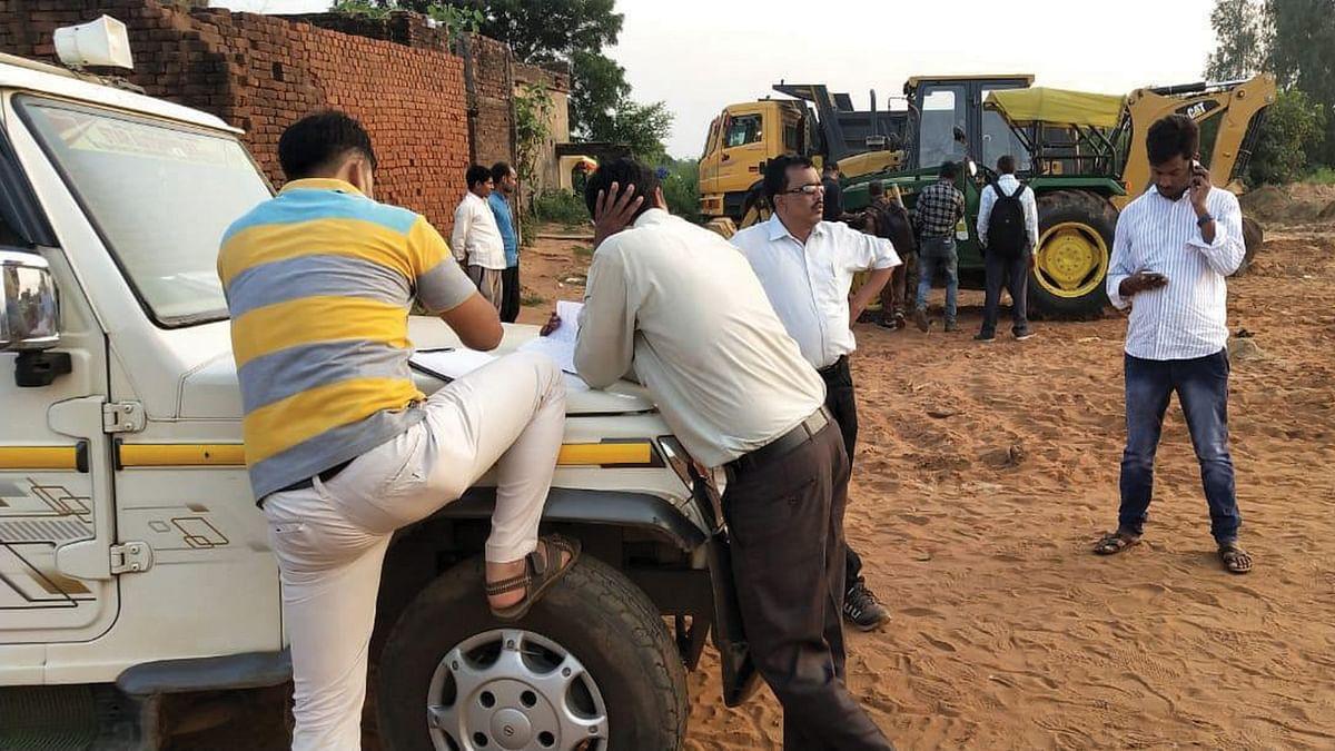 उमरियाः रेत के अवैध खनन पर खनिज विभाग की कार्रवाई