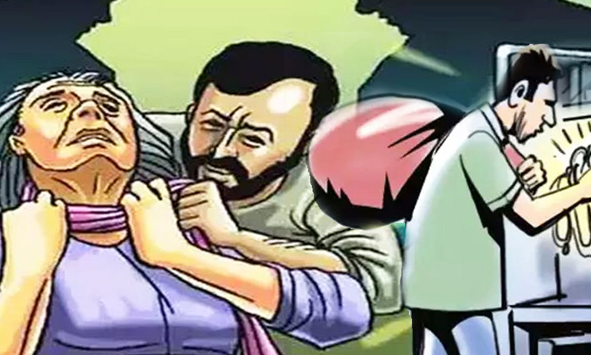 इंदौर: 70 वर्षीय बुजुर्ग महिला की निर्मम हत्या, लूट कर आरोपी फरार