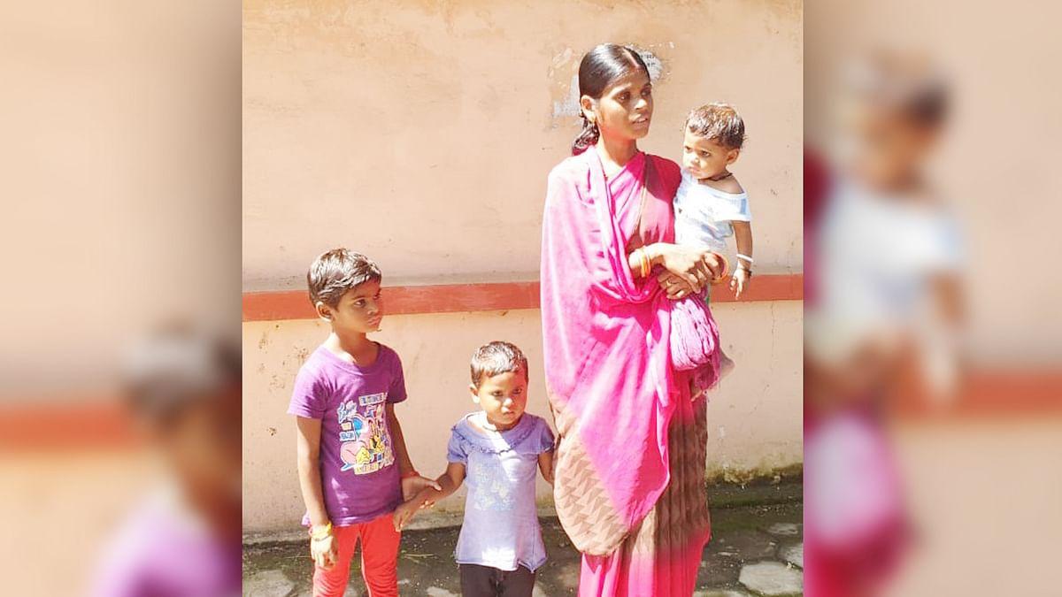 छतरपुर: पांच बेटियों को पैदा करने वाली मां को घर से निकाला