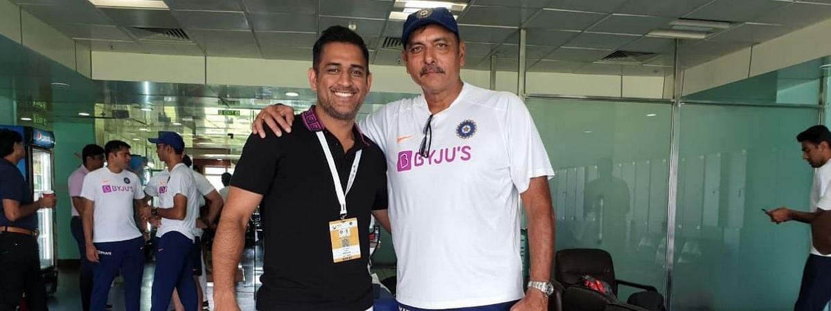 Ravi Shastri & M.S. Dhoni