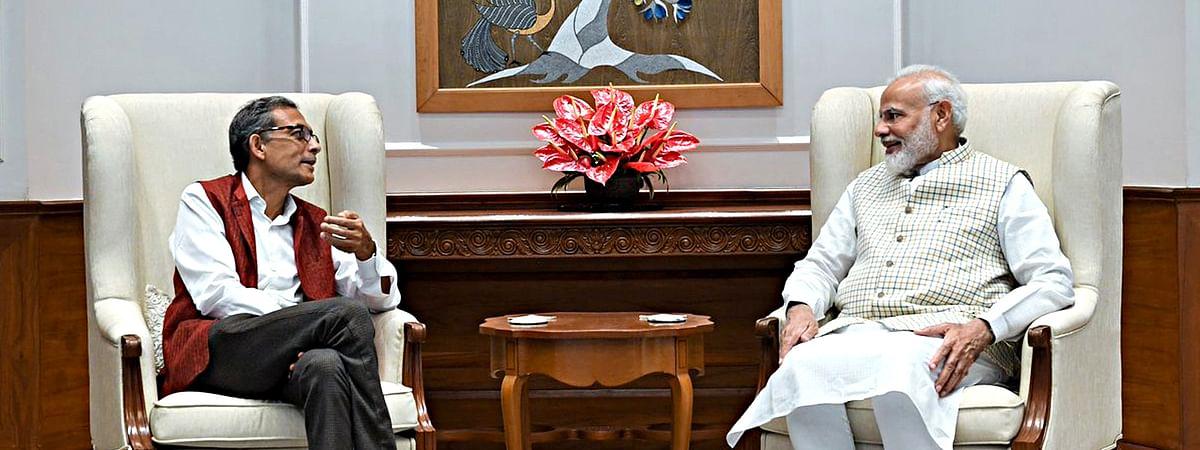 Abhijit Banerjee Meet PM Narendra Modi