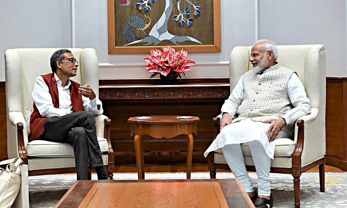 नोबेल पुरस्कार विजेता अर्थशास्त्री की प्रधानमंत्री से मुलाकात