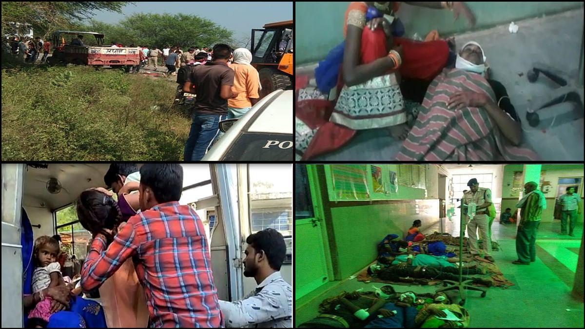 6 वर्ष बाद रतनगढ़ में श्रद्धालु फिर हुए हादसे का शिकार