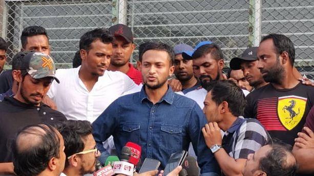 Bangladesh Cricketer on Strike हड़ताल
