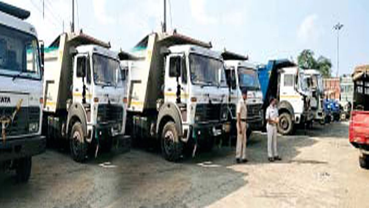 सीहोर: रेत व्यापार पर बड़ी कार्रवाई 20 से अधिक डंपर किए जब्त