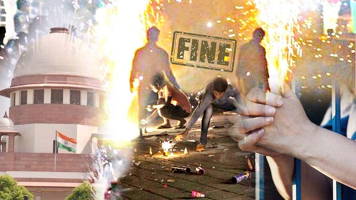 दिवाली पर पटाखे फोड़ना