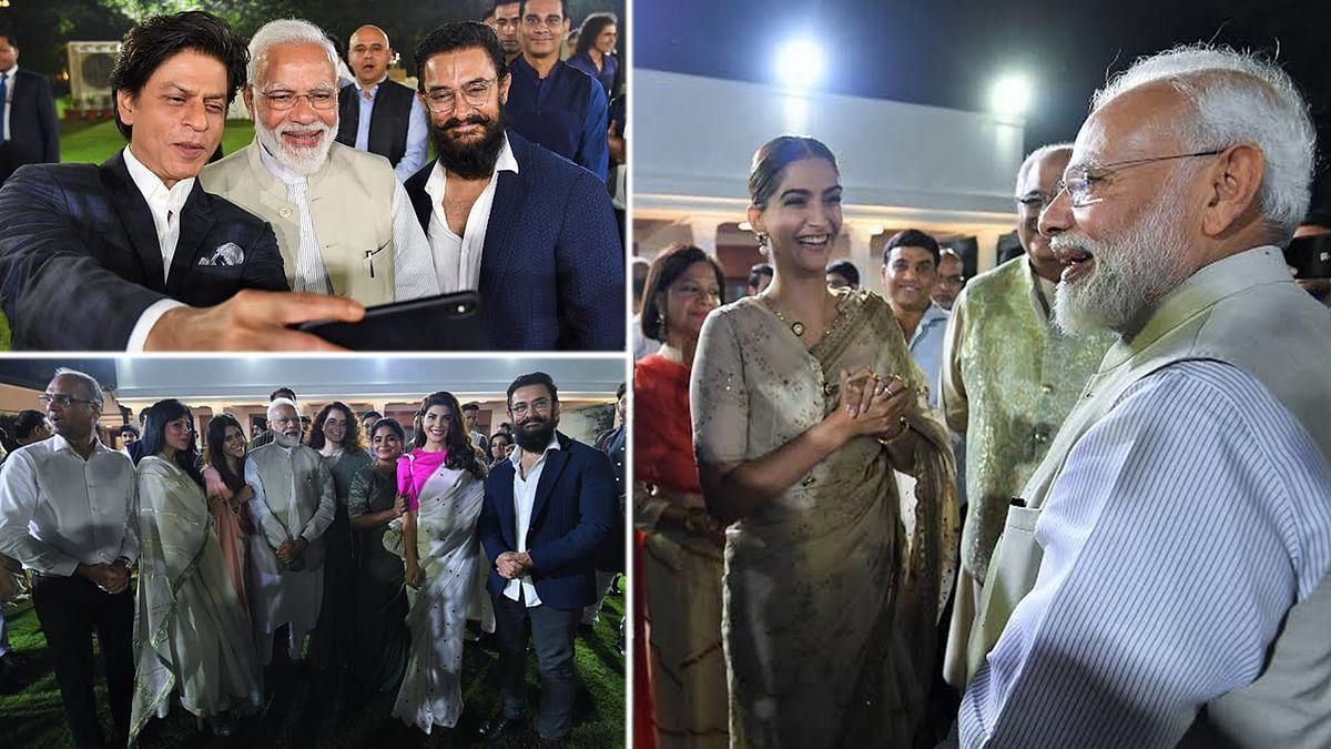 बी-टाउन हस्तियों से मिले PM मोदी