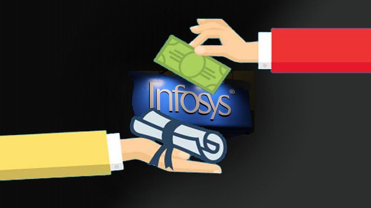 Infosys ने कर्मचारियों को दिया कंपनी के शेयर का तोहफा