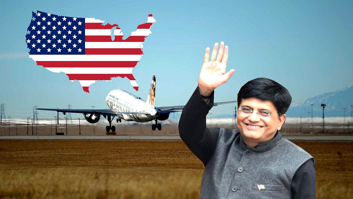 Piyush Goyal USA visit
