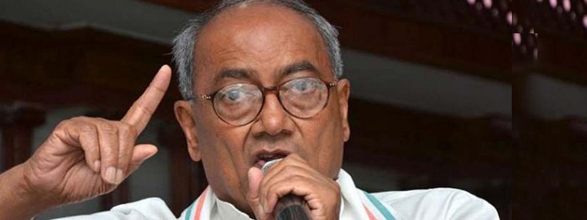 पूर्व मुख्यमंत्री दिग्विजय सिंह