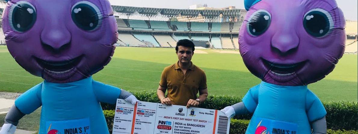 पहले डे नाईट टेस्ट के लिए गुलाबी बना कोलकाता, गांगुली ने दिया बयान