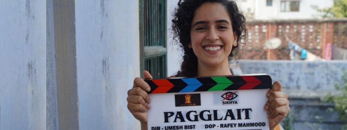 फिल्म 'पगलेट' में नजर आएंगी सान्या मल्होत्रा
