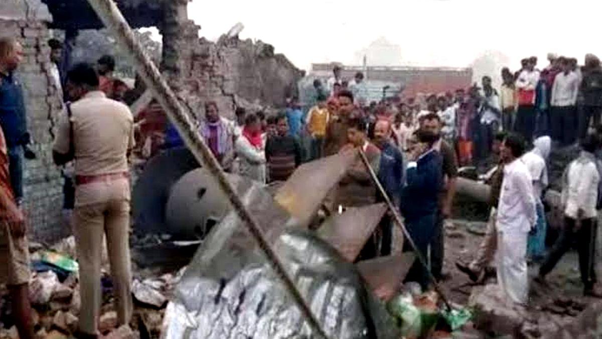 Bihar NGO Kitchen Blast