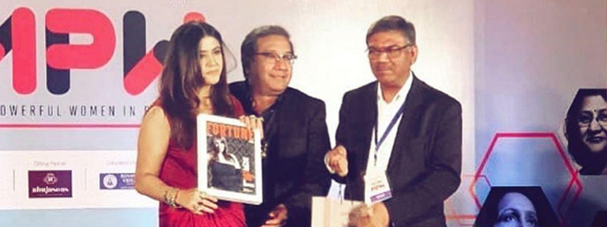फॉर्च्यून इंडिया अवार्ड में शामिल हुईं एकता कपूर, मिला ये सम्मान