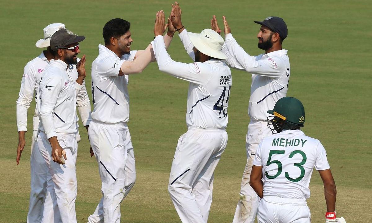 IND VS BAN: बांग्लादेश टीम ढेर, भारत ने पारी और 130 रनों से हराया