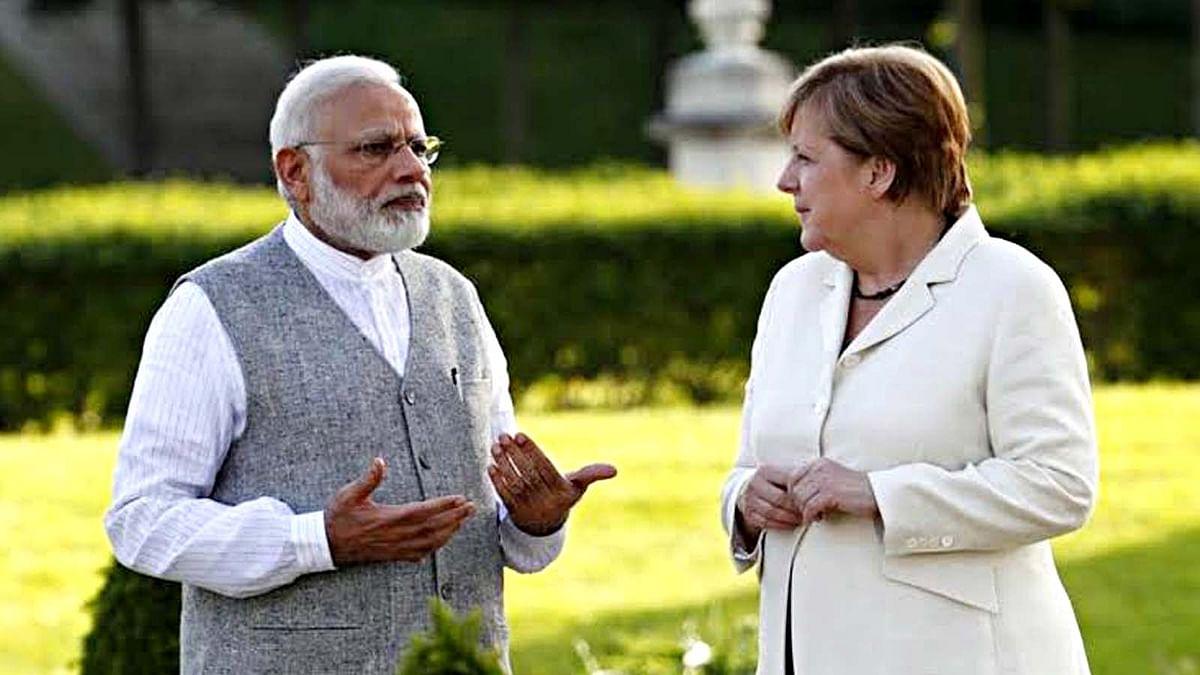 भारत दौरे पर जर्मनी चांसलर, कई द्विपक्षीय मुद्दों पर होगी बातचीत