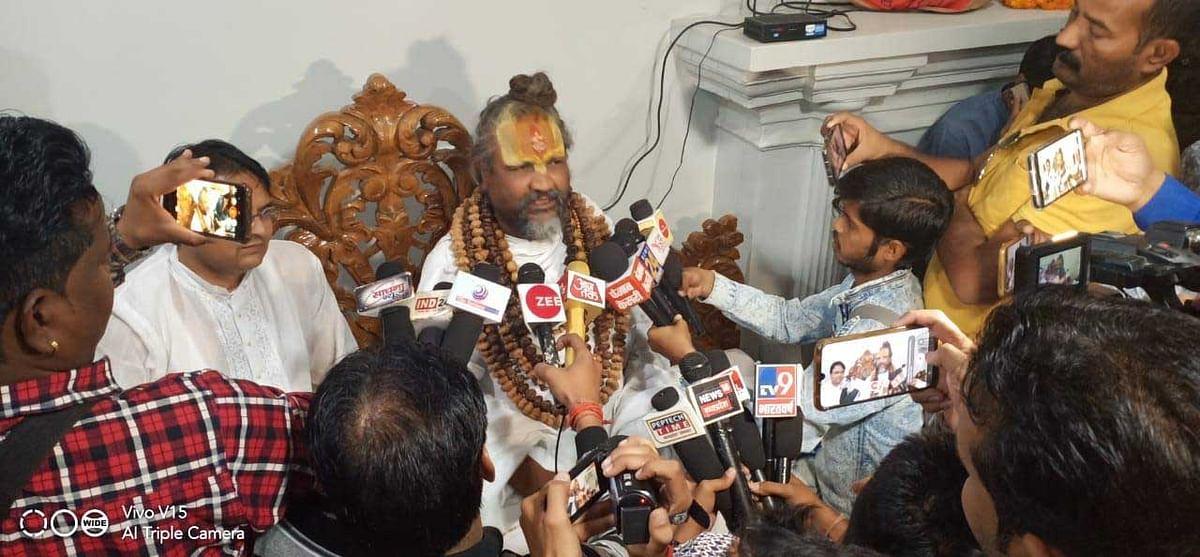 राम मंदिर के फैसले में भाजपा श्रेय न लूटे : कम्प्यूटर बाबा