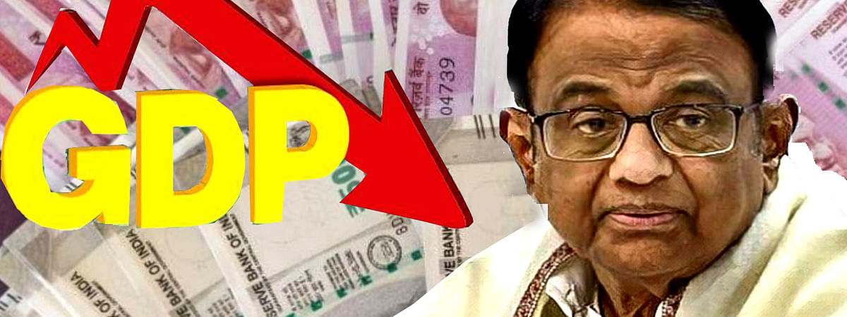 P. Chidambaram Expressed Concern on economic growth Rate