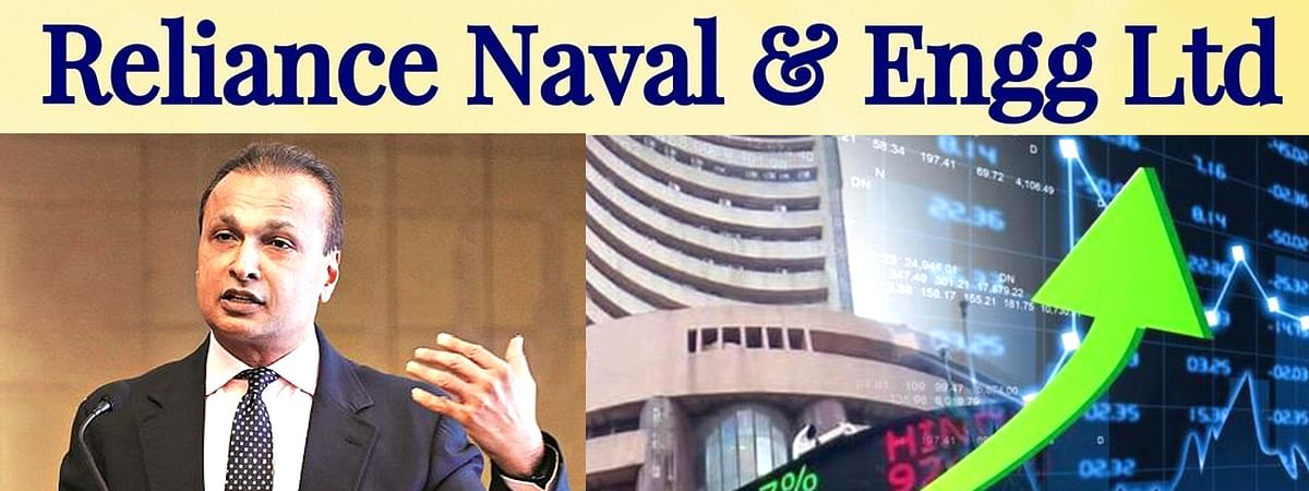 Reliance Naval Shares Increased
