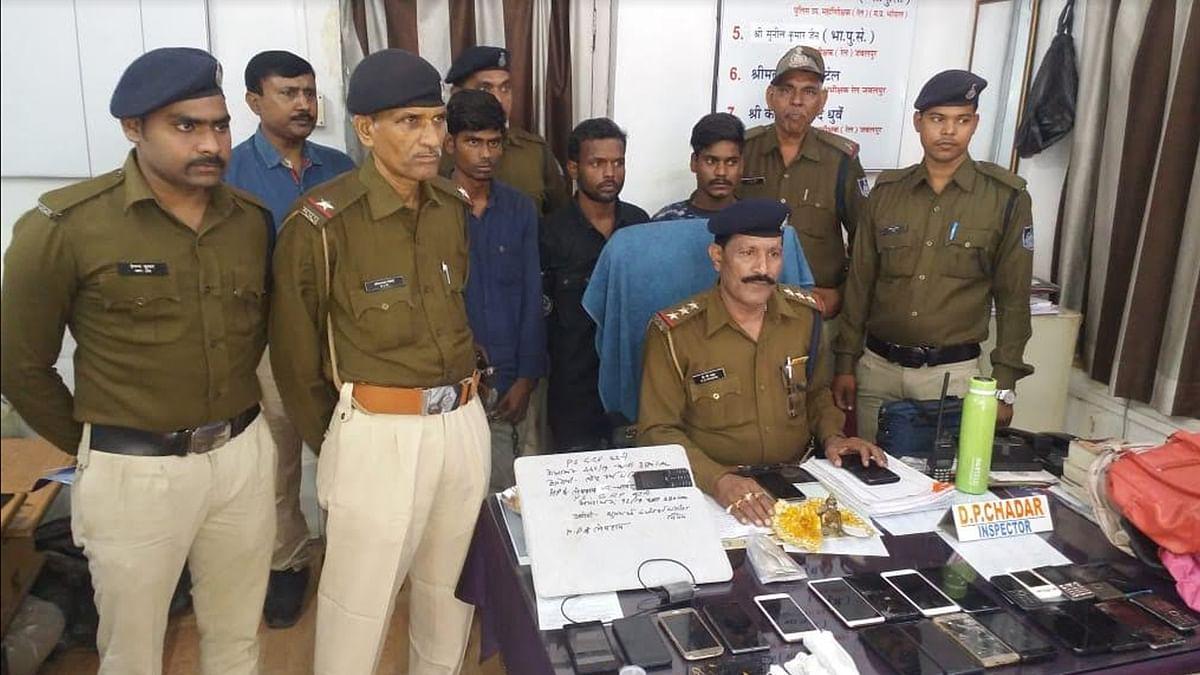 कटनी: चोरी की योजना बनाते आरोपियों को जीआरपी पुलिस ने पकड़ा