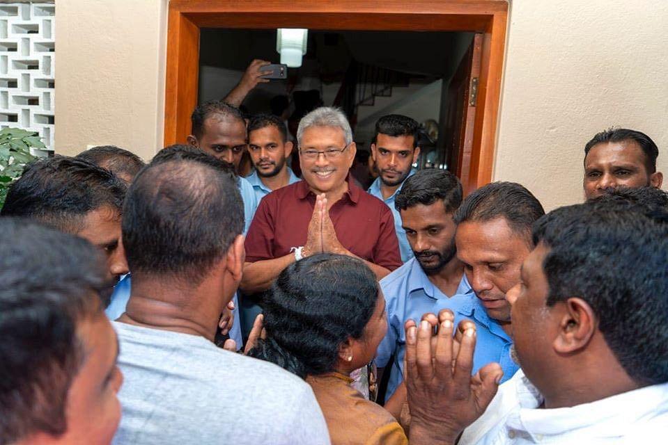 PM मोदी ने श्रीलंका के राष्ट्रपति राजपक्षे को जीत की बधाई दी