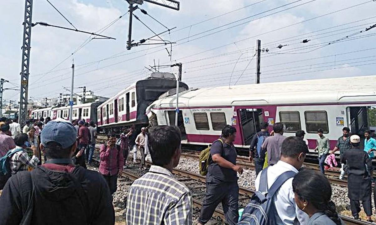 हैदराबाद के एक रेलवे स्टेशन पर बड़ा हादसा- 2 ट्रेनें आपस में टकराई