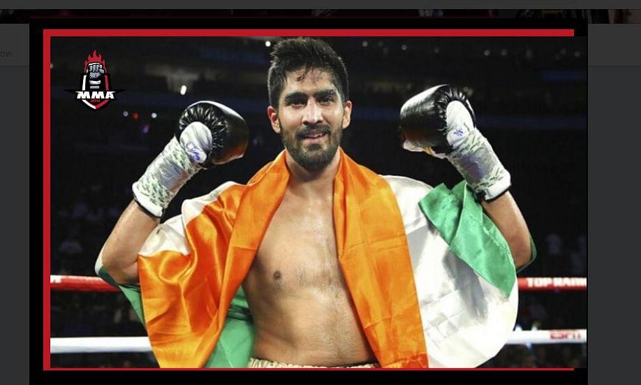 प्रो बॉक्सिंग: विजेंद्र सिंह ने कॉमनवेल्थ चैंपियन को एकतरफा मात दी
