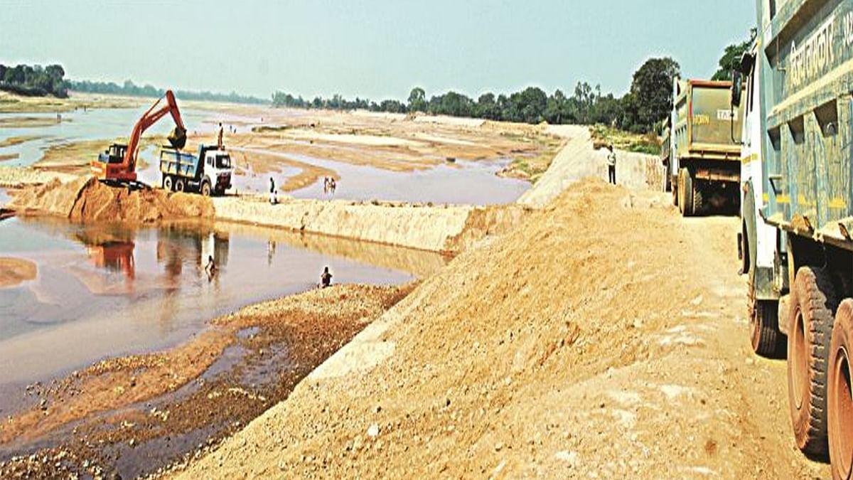 बड़े बांधो से निकाली जाएगी रेत, जारी होंगे नीलामी टेंडर