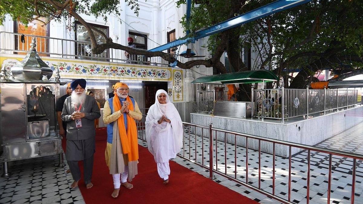 प्रधानमंत्री नरेंद्र मोदी ने करतारपुर कॉरिडोर का उद्घाटन किया